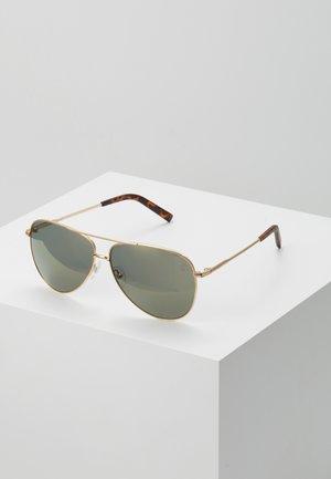 Sluneční brýle - gold-coloured/ green
