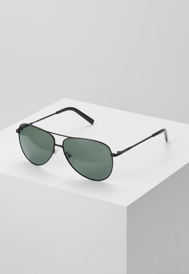Okulary przeciwsłoneczne - matte black/green