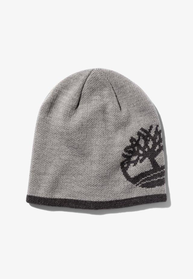 REVERSIBLE - Bonnet - light grey heather