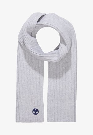 Schal - meliertes grau