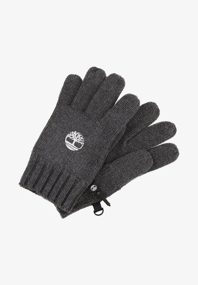 Fingerhandschuh - dunkelgrau