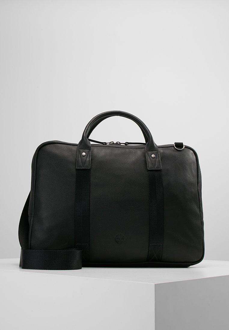 Timberland - SLIM BRIEFCASE - Laptop bag - black