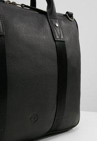 Timberland - SLIM BRIEFCASE - Sac ordinateur - black - 7