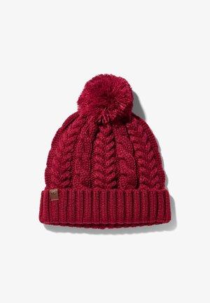 Bonnet - rhubarb