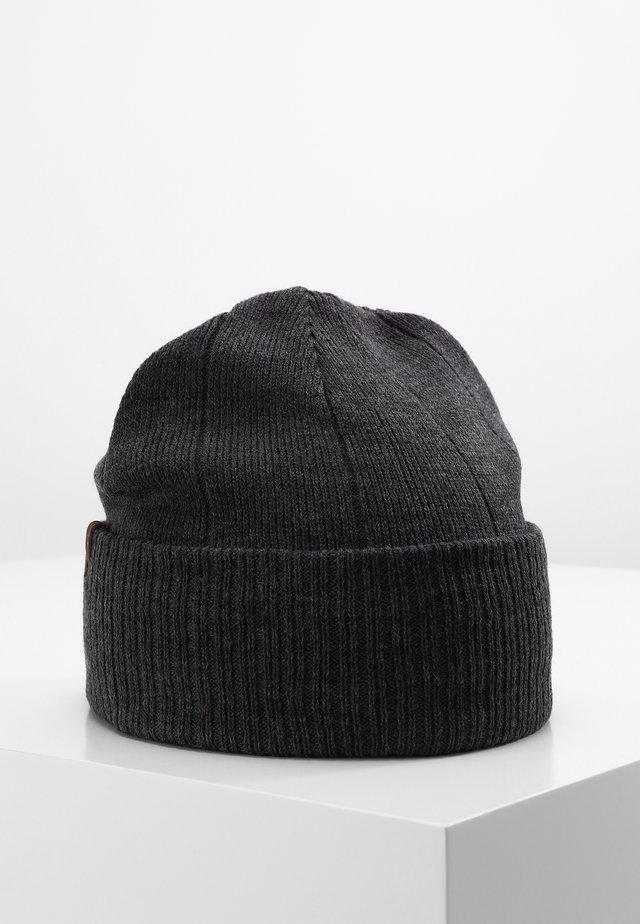 Mütze - charcoal heather