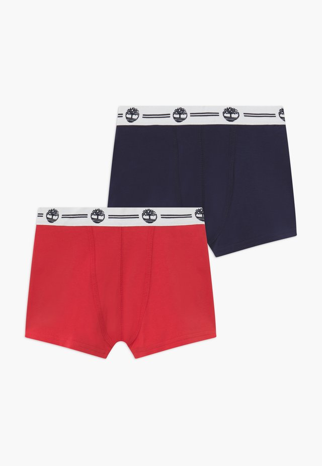 BOXER  2 PACK - Underbukse - red/blue navy