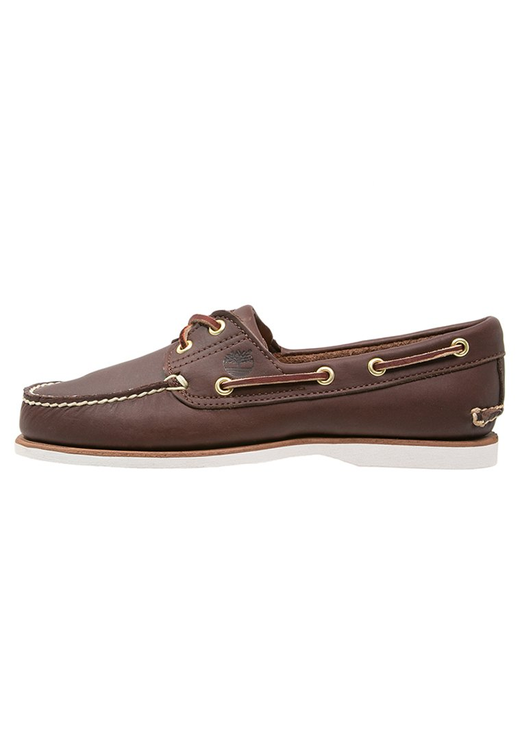 Scarpe da barca dark brown