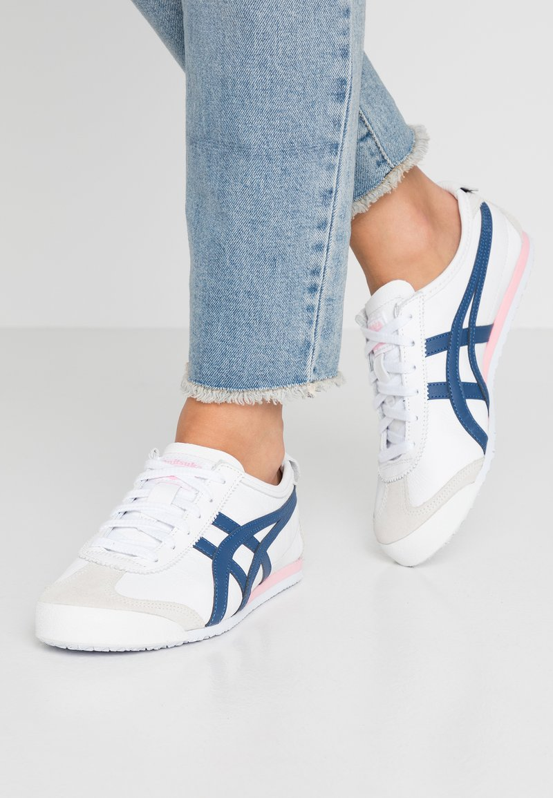 Onitsuka Tiger - MEXICO 66 - Sneakersy niskie - white/independence blue