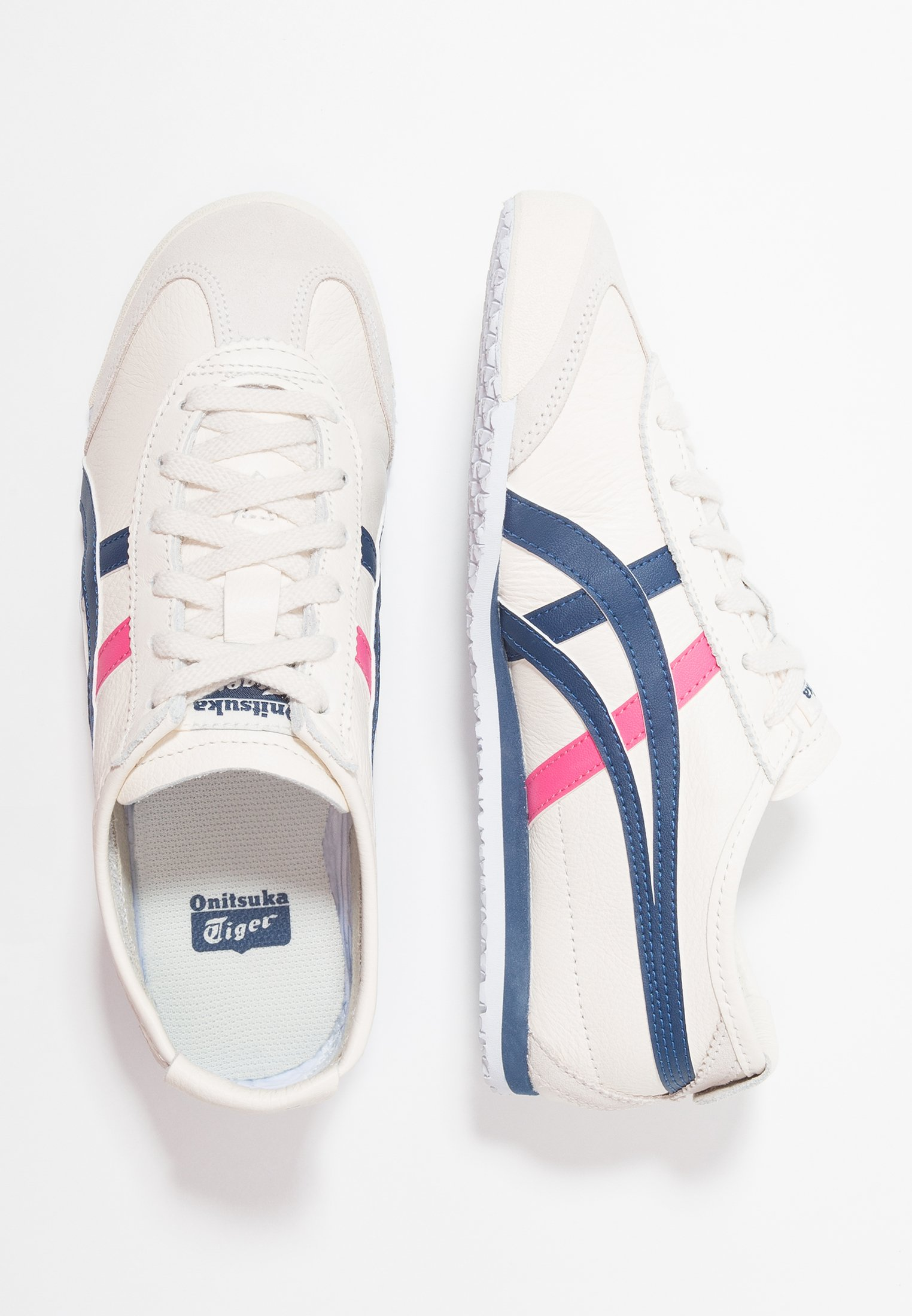 Onitsuka Tiger MEXICO 66 Joggesko creammidnight blue