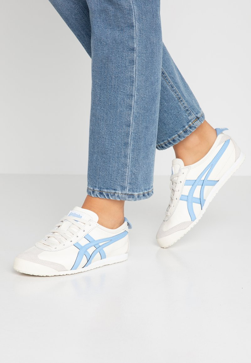 Onitsuka Tiger - MEXICO  - Sneakers laag - cream/blue bell