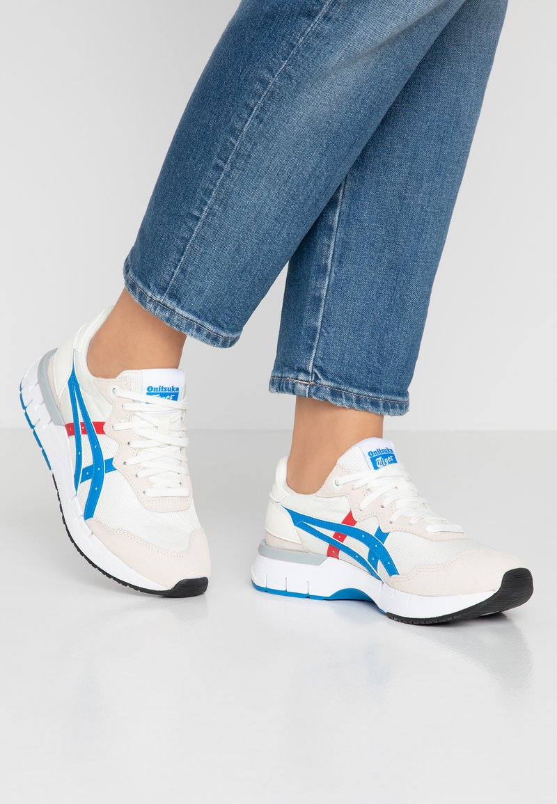 Onitsuka Tiger - REBILAC RUNNER - Sneaker low - cream/directoire blue