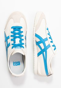 Onitsuka Tiger - MEXICO - Sneakers laag - cream/dolphin blue - 3