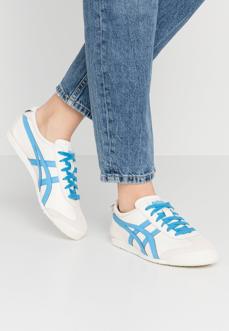 Onitsuka Tiger - MEXICO - Sneakers laag - cream/dolphin blue