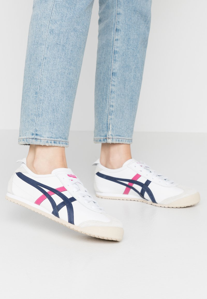 Onitsuka Tiger - MEXICO 66 - Sneakers - white/navy/pink