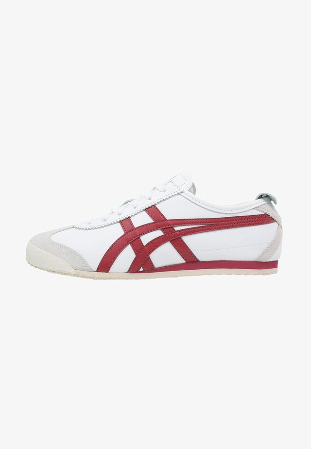 MEXICO  - Trainers - white/burgundy