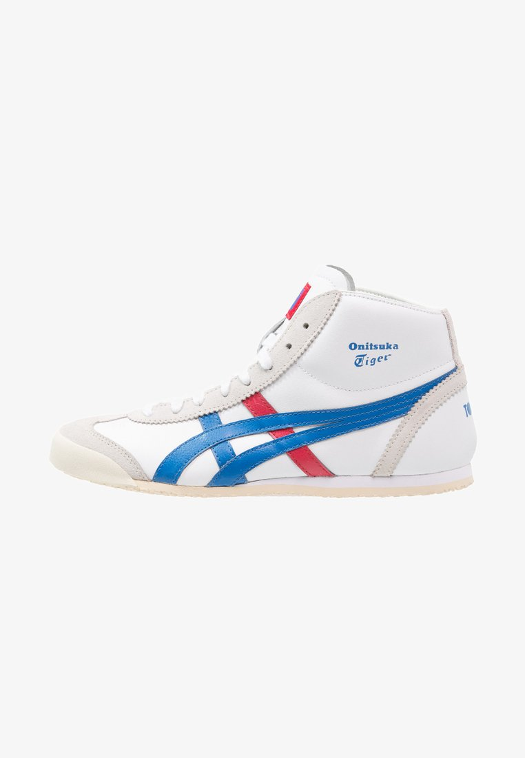 Onitsuka Tiger - MEXICO MID RUNNER - High-top trainers - white/daphne