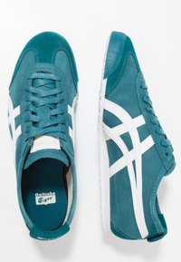 Onitsuka Tiger - MEXICO - Baskets basses - spruce green/white - 1