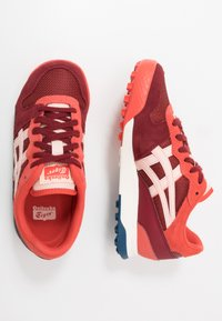 Onitsuka Tiger - HORIZONIA - Sneakers laag - beet juice/breeze - 1