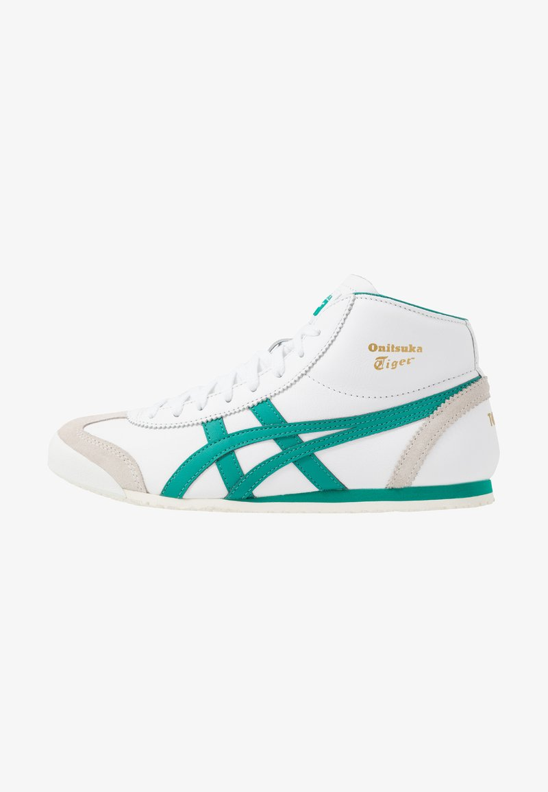 Onitsuka Tiger - MEXICO MID RUNNER - Sneaker low - white/jellybean