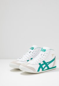Onitsuka Tiger - MEXICO MID RUNNER - Trainers - white/jellybean - 2