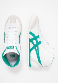 Onitsuka Tiger - MEXICO MID RUNNER - Trainers - white/jellybean - 1