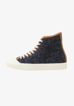 BASKETBALL - Sneakers high - indigo denim