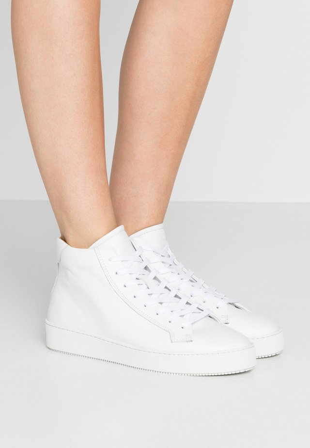SALASI - High-top trainers - white