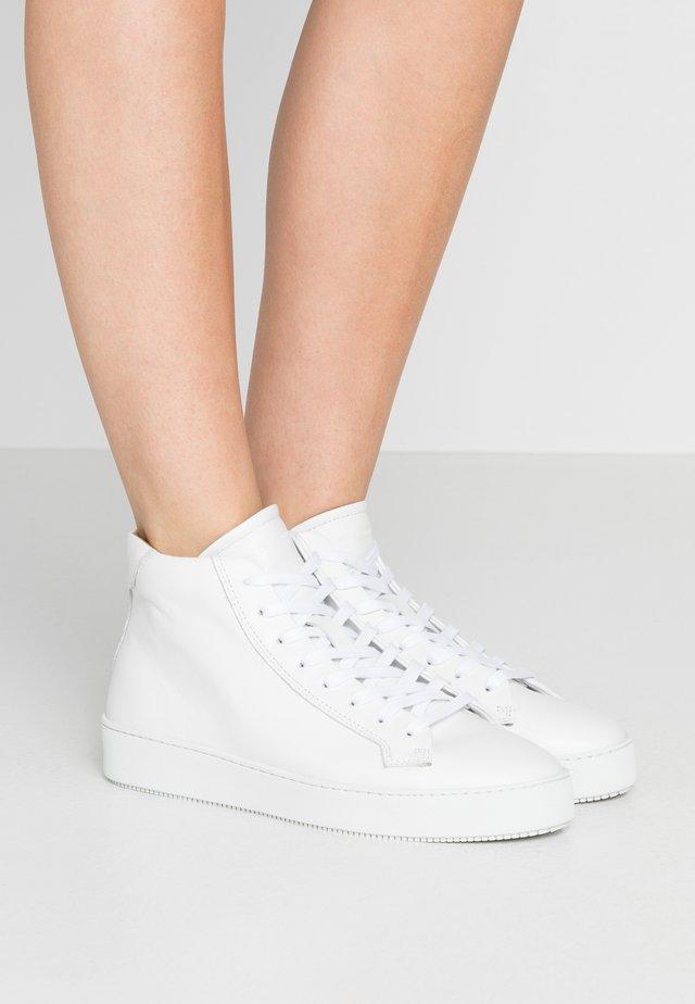 SALASI - Sneakers hoog - white
