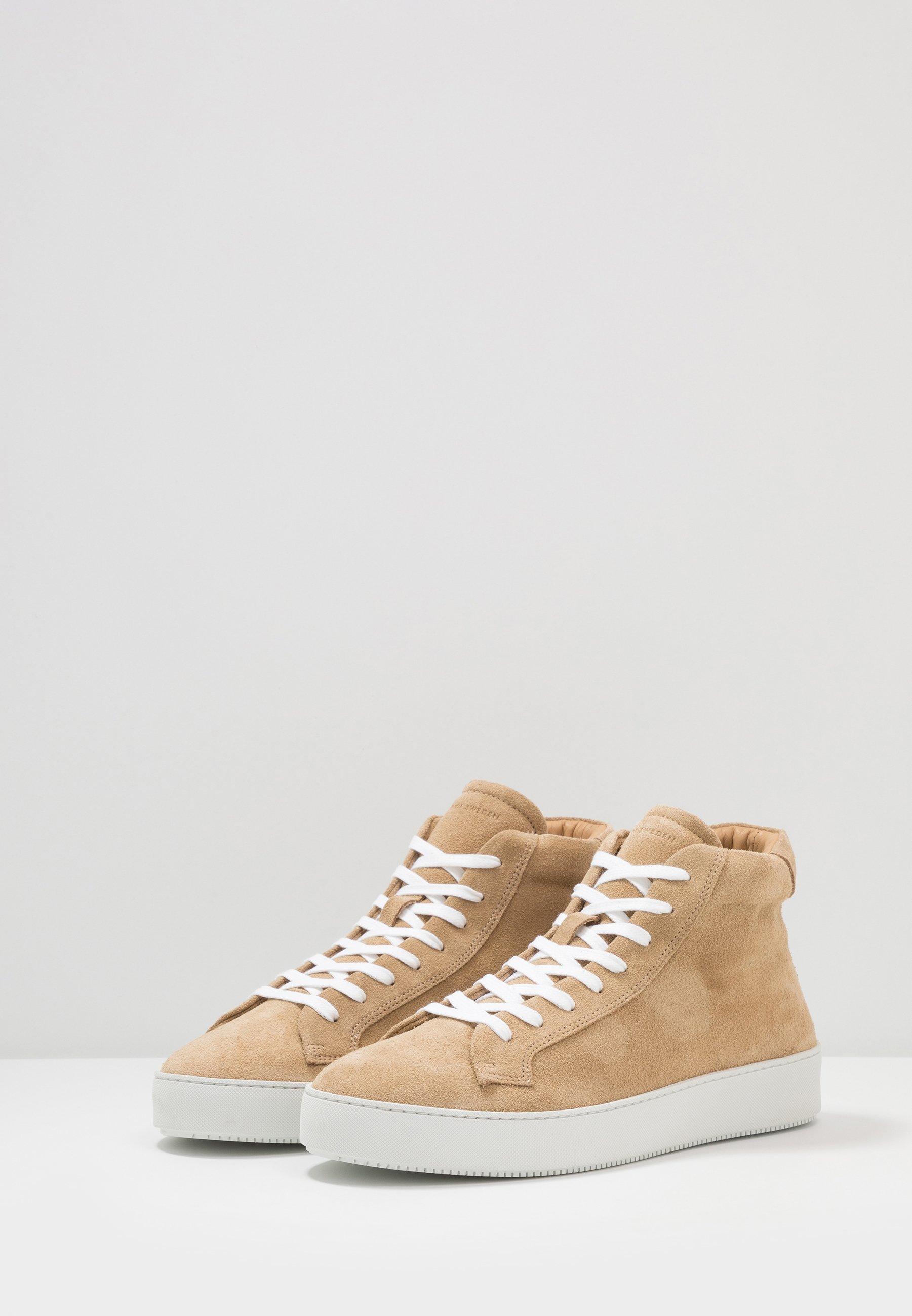 Tiger Of Sweden Salas - Höga Sneakers Macchiato