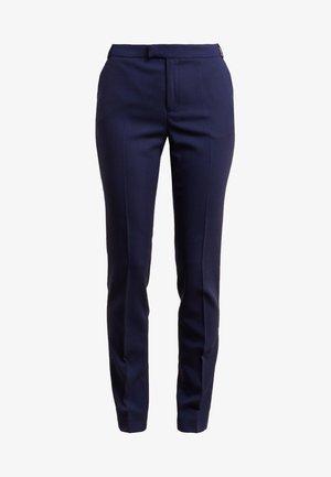 LOVANN - Trousers - peacoat blue