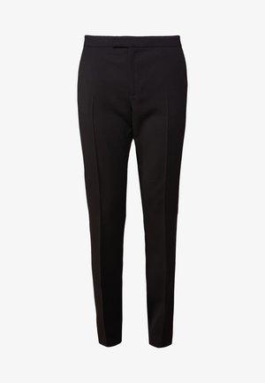 LOVANN - Trousers - night black