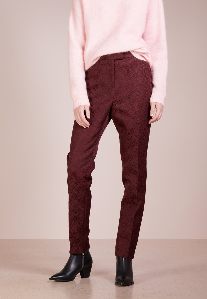 Tiger of Sweden - LOANELLA - Trousers - hot rust