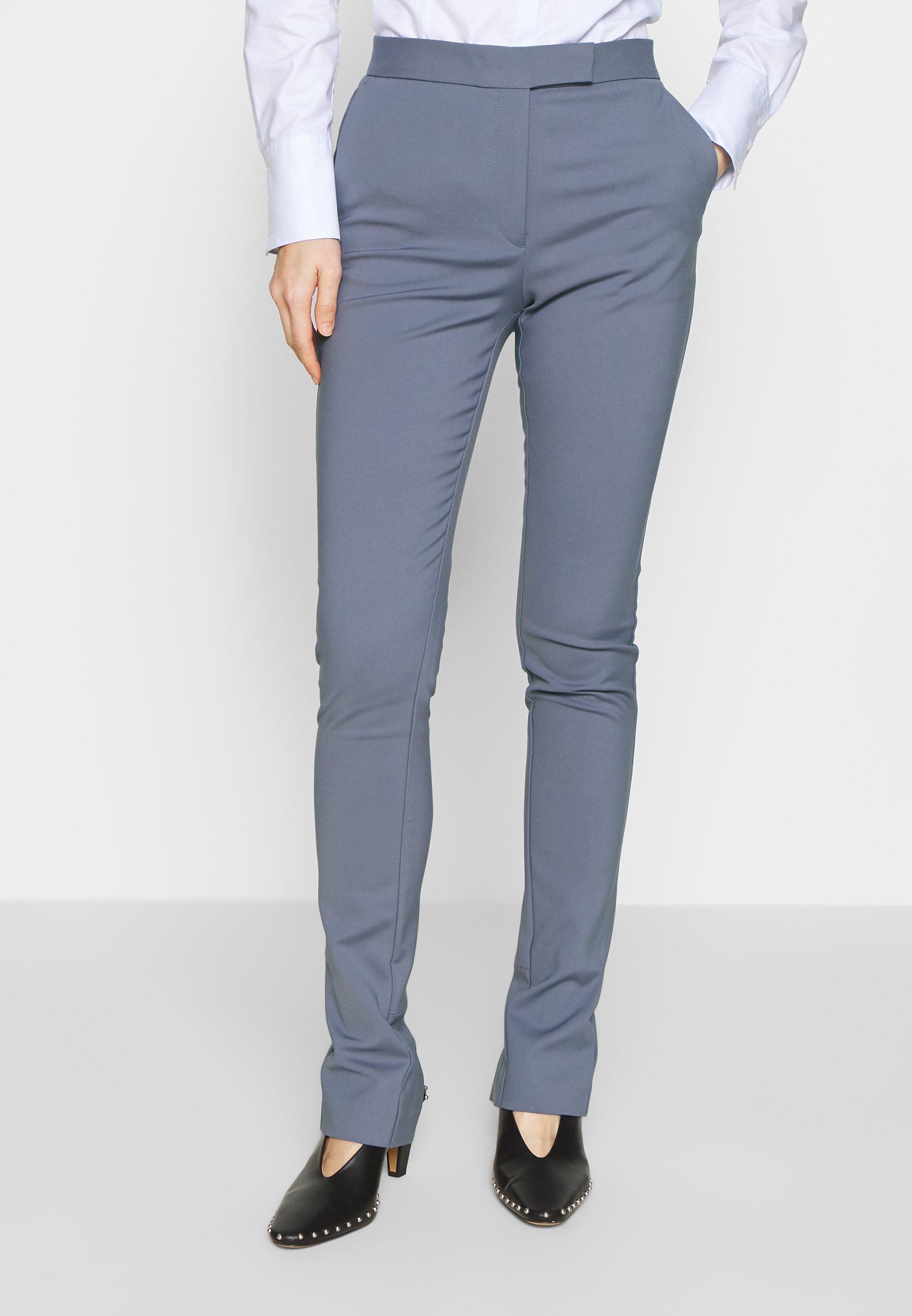 Tiger of Sweden TAIKA - Spodnie materiałowe - mist blue