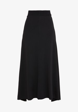 MABLE SKIRT - Falda acampanada - black