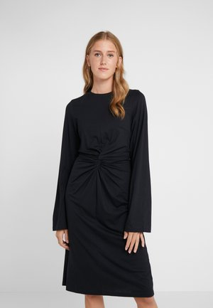 SKILLA - Sukienka z dżerseju - black