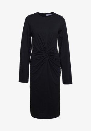 SKILLA - Jerseyklänning - black