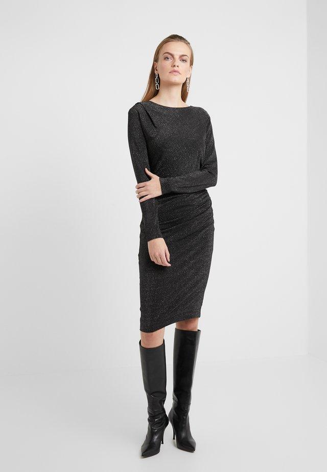 IZLA - Sukienka z dżerseju - black