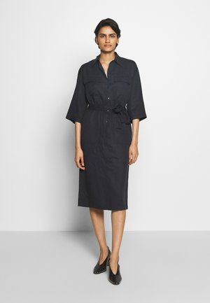 VENDY - Shirt dress - black