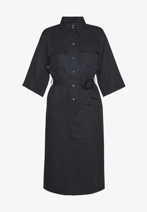 VENDY - Shirt dress - black