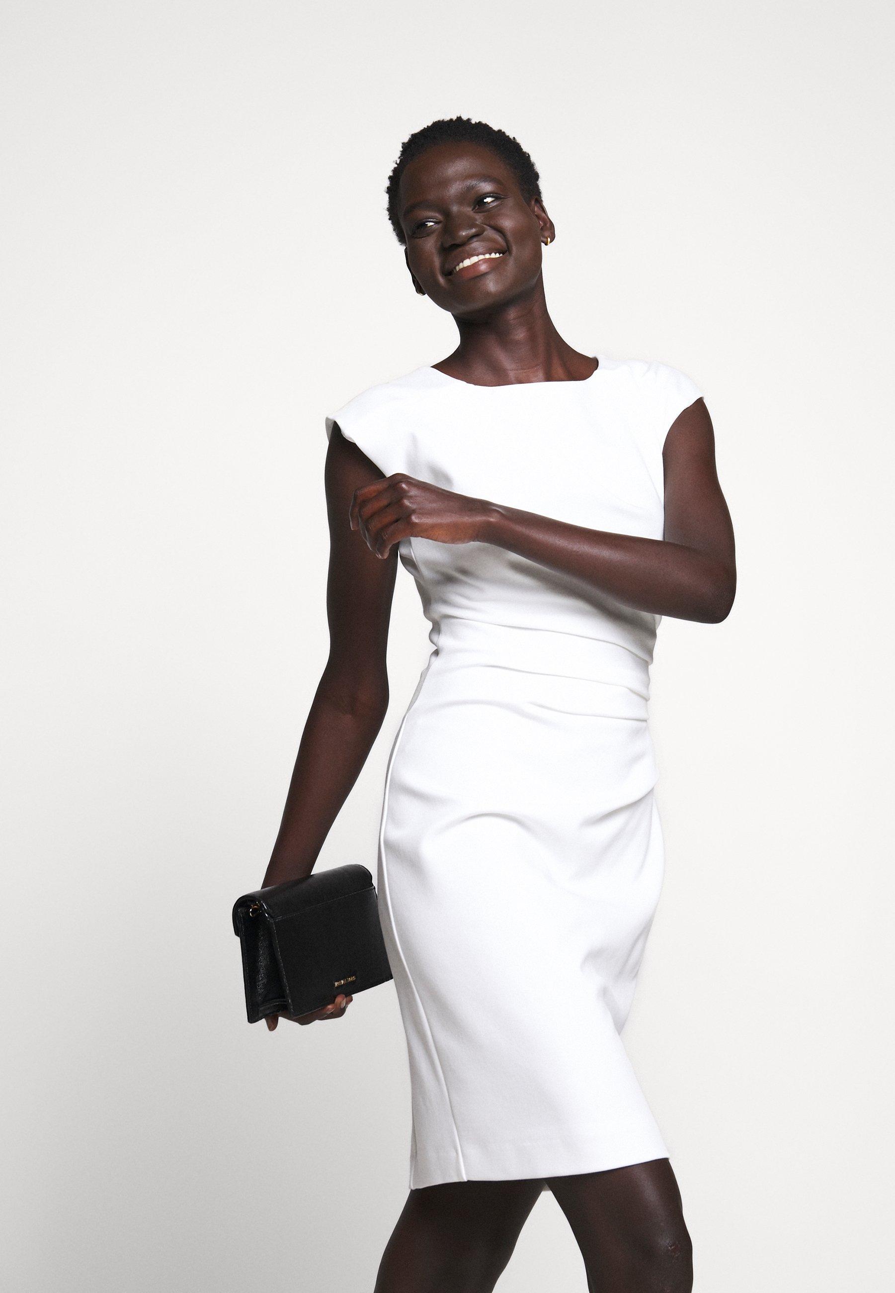 Nowy styl Duża obniżka Tiger of Sweden MISTRETCH - Sukienka etui - bright white | Odzież damska 2020 u0acL