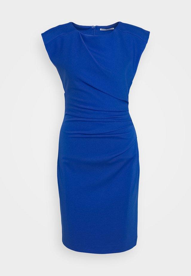 MISTRETCH - Pouzdrové šaty - berlin blue