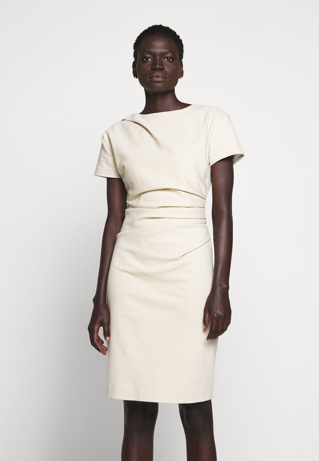 IZLO - Sukienka etui - soft beige
