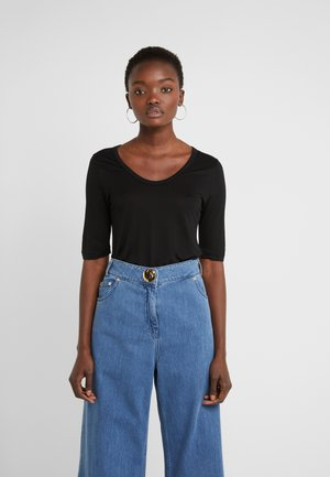 LERNA - Basic T-shirt - black