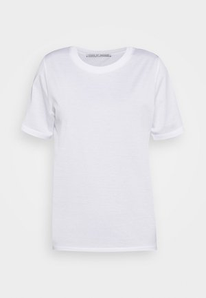 DEIRO - T-shirt basique - pure white