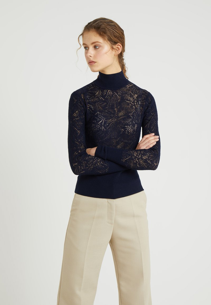 Tiger of Sweden - CLASSY - Sweter - midnight blue