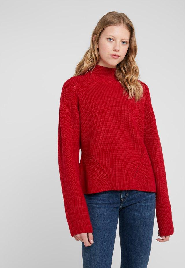 NANDRIN - Stickad tröja - wicked red