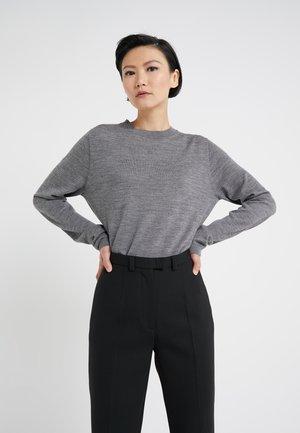 DAPHNE - Stickad tröja - light grey