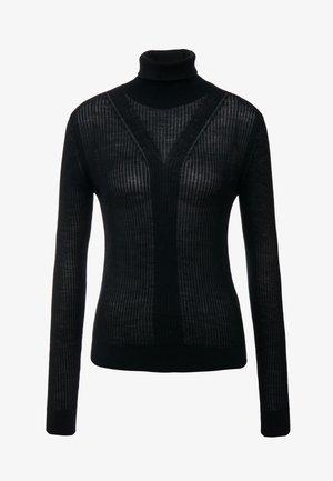 SYMIS - Pullover - black