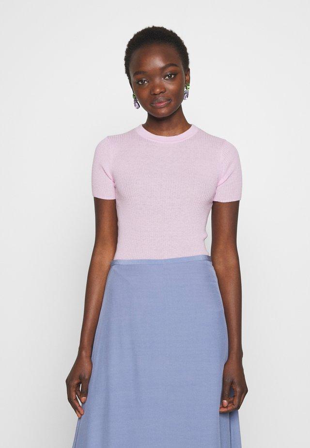 ORVI - Basic T-shirt - soft violet
