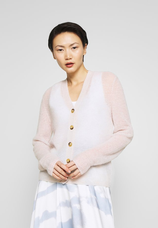 PERA - Cardigan - light grey melange